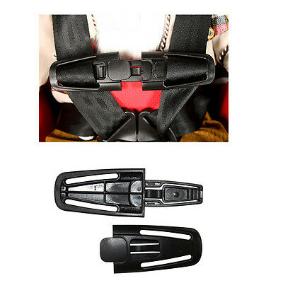 1Pc Car Baby Safety Seat Nylon Strap Belt Harness Chest Clip Kids Buckle Latch