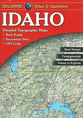 Idaho Atlas & Gazetteer, by DeLorme (2010 Edition)
