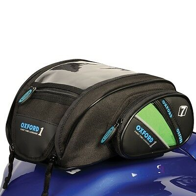 Oxford Magnetic Motorcycle Motorbike 1st Time Mini Tank Bag Luggage 7L OL430