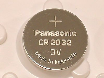 4 pc BULK PANASONIC CR2032 cr 2032 ECR2032 3v Battery EXPIRE 2027