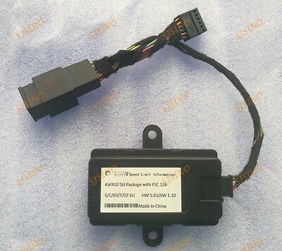 Speed Limit Information SLI Emulator KMH for BMW NBT F Series Retrofit