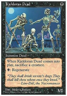 2x Morti di Kjeldor - Kjeldoran Dead MTG MAGIC 5E Eng