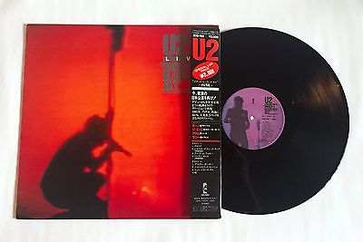 U2 Under A Blood Red Sky JAPAN VINYL LP 20S-192 w/OBI