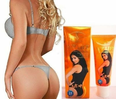 Hip Lift Up Butt Firm Enlargement Massage Cream with Natural Extracts 120g USA!!