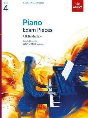 ABRSM Grade 4 Piano 2019-2020 Selected Exam Pieces Music Book Theory Play