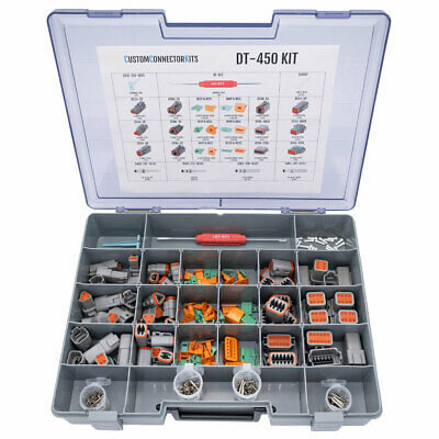 Deutsch Dt Connector Kit-451 Pcs W/o Tool