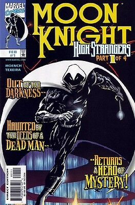 Moon Knight High Strangers #1-4 Near Mint Complete Set 1999 Marvel Comics