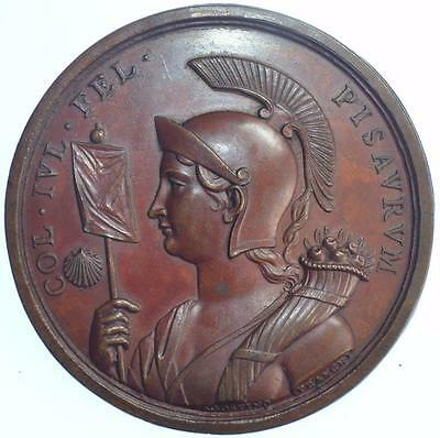 Italy - 1754 Pisaro Academy medal by Franchi