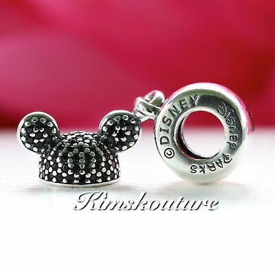 d3b81d845 Authentic Pandora Mickey Mouse ''Mickey Ear Hat'' Charm Disney Park  Exclusive