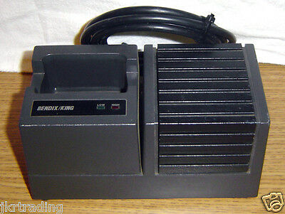 Bendix King Rapid Battery Charger Portable Radio Charging Station Dock