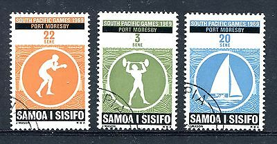 Samoa 1969 South Pacific Games  Used cto