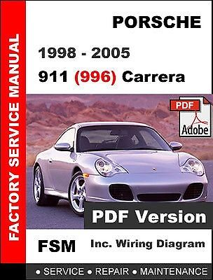 porsche 911 carrera 996 1998 2005 factory service repair workshop rh picclick com ducati 996 workshop manual pdf 996 gt3 workshop manual