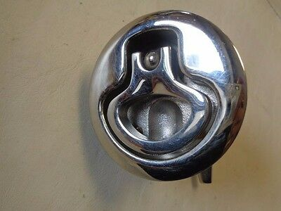 """SOUTHCO NON-LOCKING STAINLESS STEEL FLUSH PULL LATCH 3/"""" X 2 3//8/"""" MARINE BOAT"""