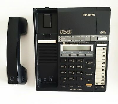 Panasonic KX-T2740 EASA PHONE - integrated telephone system with ans. 2-LINE new