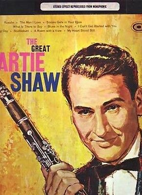 Artie Shaw . the Great Artie Shaw . RCA Camden LP
