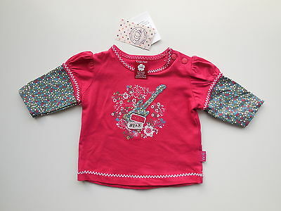 Pumpkin Patch Baby Girl Long Sleeve Top Size 0000 Newborn *new Rrp $22.99