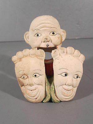 Schafer and Vater Style Match Holder / Guy with Happy Feet / FREE Shipping
