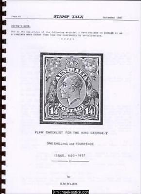 Flaw Checklist for the King George V One Shilling and Fourpence