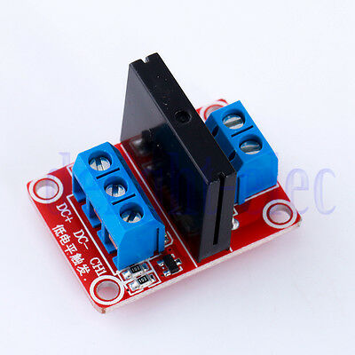5V 1 Channel Solid State Relay Board for Arduino Uno Duemilanove MEGA DE