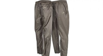 Nash Tackle NEW Carp Fishing Green Waterproof Packaway Trousers *All Sizes*