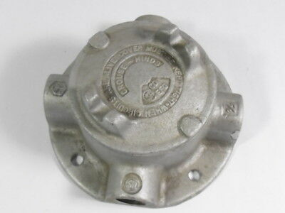 """Crouse Hinds GUFX16 Explosion-Proof Conduit Outlet 1/2"""" ! WOW !"""