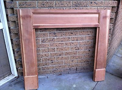 Mantle Mantel Piece Fire Place Surround  #1 Wood Raw