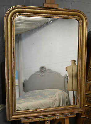 Mid 19th Century Antique French Gilt Louis Philippe mirror