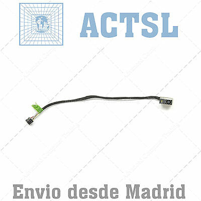 DC Power Jack Socket for HP Pavillon 709802-YD1 17cm aprox. 8Pin 7 cables