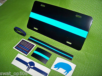 """Thin Blue Line """"Blue Pride"""" - Tag / Plate, Stickers, more -PBA FOP  Ships FREE!"""