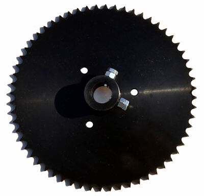 "Live Axle Sprocket, 60T, for 40/41/420 chain, 1"" bore"
