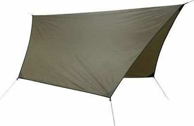 """Hennessy Hammock P132 Coyote Brown Hex Rainfly 70D Polyester 144"""" x 120"""" NEW"""