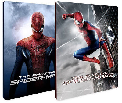 THE AMAZING SPIDERMAN 1 e 2 STEELBOOK COLLECTION (2 BLU-RAY) Andrew Garfield