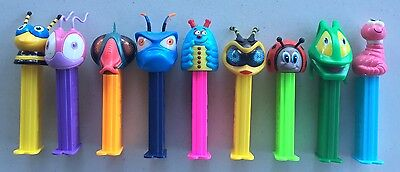 PEZ - Retired Bugz Set of 9 - Mint