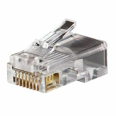 Klein Tool Modular Telephone Data Plug - RJ45 - CAT5e 10-Pack