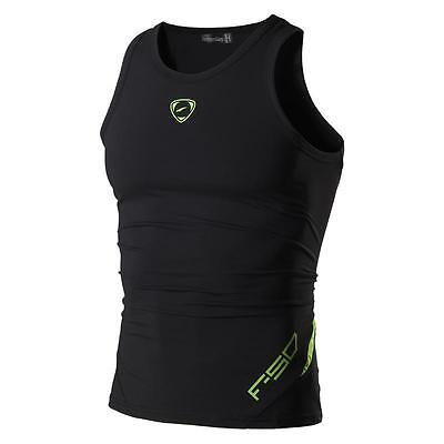 Jeansian Mens Sports Wicking Breathable Quick Dry Vest Tank Top T-Shirt LSL3306