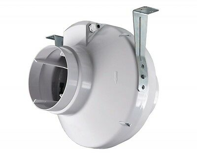 "Vents VK200 8"" Inline Centrifugal Extractor Fan 780 m3/h Hydroponics 200mm"