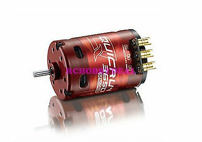 Hobbywing QuickRun 3650-13.5T Brushless Sensored Motor for 1/10 RC Car