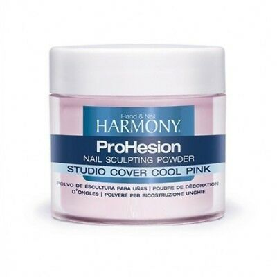 Harmony Prohesion Acrylic Nail Sculpting Powder Studio Cover Cool Pink 105g