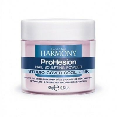 Harmony Prohesion Acrylic Nail Sculpting Powder Studio Cover Cool Pink 28g