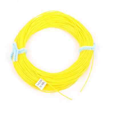 100FT Fly Line Floating WF-7F  YELLOW Fly Fishing Line Trout Salmon Line Tackle