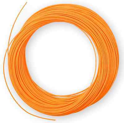 100FT Fly Line Floating WF-5F  ORANGE Fly Fishing Line Trout Salmon Line Tackle