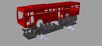 N-Train - 3D Printed 'Citaro' bus Type 1
