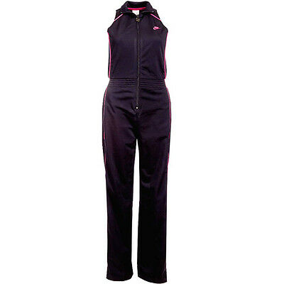 Nike Cat Suit Womens All-In-One Sport Black Tracksuit 295577 010 P4