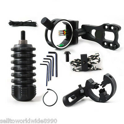 1 x Compound Bow Archery Archer Upgrade Combo Sight Kits Shooting Hunting Set