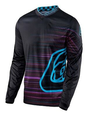 Troy Lee Designs 2017 GP Jersey Electro Black Mens All Sizes
