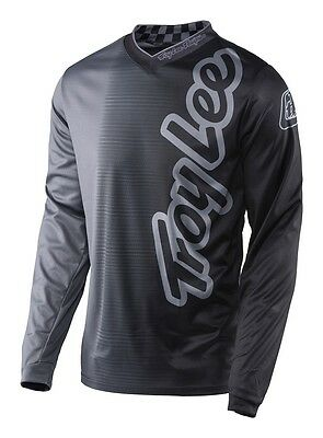 Troy Lee Designs 2017 GP Jersey 50/50 Charcoal Mens All Sizes