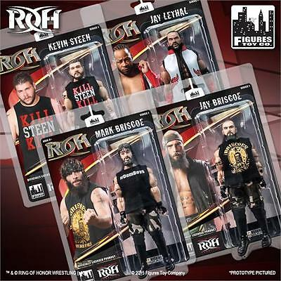Ring of Honor Wrestling Action Figures Series 1 Set of all 4