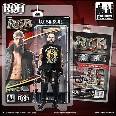 Ring of Honor Wrestling Action Figures Series 1: Jay Briscoe
