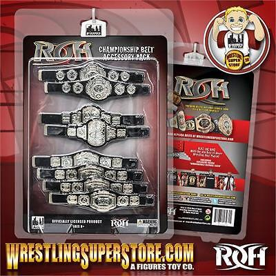 Ring of Honor Wrestling Action Figure Championship Belt Accessory Pack
