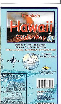 Franko's Guide  Map of Hawaii, Big Island